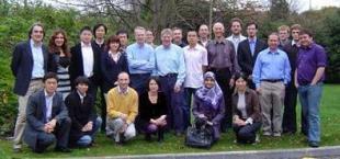 From left to right: Stefano Brandani (Edin), Xiao Guo (UCL), Zoe Kapetaki (Edin), Jonathan Tan (UCL), Eric Hu (Edin), Hyungwoong Ahn (Edin), Magdalena Lozinska (St Andrews), Wenli Dang (Edin), Lev Sarkisov (Edin), Paul Wright (St Andrews), Tina Düren (Edin), Leigh Murray (Edin), Russell Morris (St Andrews), Neil McKeown (Cardiff), Linjiang Chen (Edin), Eric Fraga (UCL), Hosna Shamsipour (Manchester), Peter Budd (Manchester), Daniel Friedrich (Edin), Danlu Tong (Imperial), Joakim Back (UCL), George Jackson (