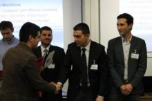Dursun Can Ozcan at the ABTA 2014 Doctoral Research Awards Ceremony at the London Business School