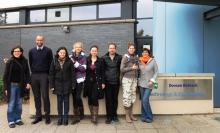Participants of the EU CleanCOALtech training week at the Doosan Power System site