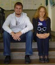 From left to right: Vincent Raynaud & Malgorzata Niesyt
