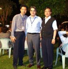 From left to right: Dr Hyungwoong Ahn (UoE), Prof. Stefano Brandani (UoE), and Prof. Chang-Ha Lee (Yonsei University).