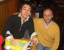 Hiroki Sato & Dr Lev Sarkisov